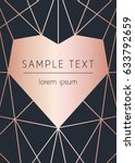 vector modern design template... | Shutterstock .eps vector #633792659