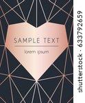 vector modern design template... | Shutterstock .eps vector #633792659