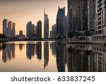 Dusk Skyline Of Jumeirah Lakes...
