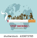 World No Tobacco Day Concept...