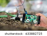 agricultural technology concept.... | Shutterstock . vector #633882725