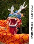 Chinese Dancing Dragon Head  ...