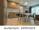 modern living room interior | Shutterstock . vector #633913619