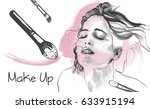 vector hand drawn illustration... | Shutterstock .eps vector #633915194