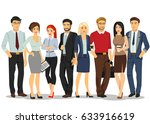 office people. business people... | Shutterstock .eps vector #633916619