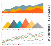 line chart and triangle chart   Shutterstock .eps vector #633932837
