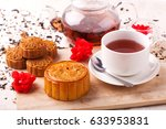 chinese mid autumn festival... | Shutterstock . vector #633953831
