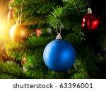 Christmas Decoration With Shin...