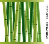 Bamboo Sticks Background Over...