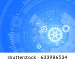 abstract technology background | Shutterstock .eps vector #633986534