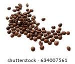coffee beans | Shutterstock . vector #634007561
