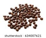 coffee beans   Shutterstock . vector #634007621