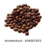 coffee beans   Shutterstock . vector #634007651