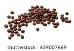 coffee beans   Shutterstock . vector #634007669