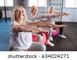 happy nice woman having her...   Shutterstock . vector #634024271