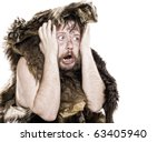 Caveman In Bear Skin