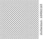 pop art dots background. black... | Shutterstock .eps vector #634061165