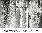 distressed overlay wooden... | Shutterstock .eps vector #634069829