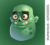 zombie 3 | Shutterstock .eps vector #634102031