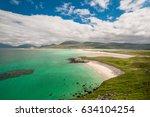 seilebost beach  outer hebrides ... | Shutterstock . vector #634104254