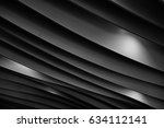 study of lines and dramatic... | Shutterstock . vector #634112141