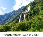 Valchiavenna  Italy  Waterfall...