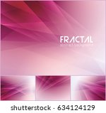 fractal abstract background... | Shutterstock .eps vector #634124129