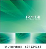 fractal abstract background... | Shutterstock .eps vector #634124165