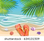 vector a banner with an... | Shutterstock .eps vector #634131509