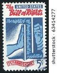 united states   circa 1966 ... | Shutterstock . vector #63414277