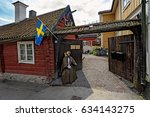 sigtuna  sweden   may 01  2016  ... | Shutterstock . vector #634143275