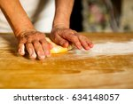 preparation of the most typical ... | Shutterstock . vector #634148057
