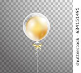 3d  holiday white transparent...   Shutterstock .eps vector #634151495