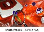 digital illustration of... | Shutterstock . vector #63415765