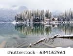 beautiful reflections of a...   Shutterstock . vector #634162961