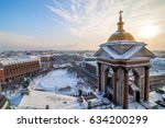 aerial view of st. petersburg... | Shutterstock . vector #634200299
