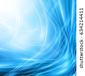 abstract blue background ...   Shutterstock . vector #634214411