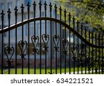 Wrought Iron Tracery Black...