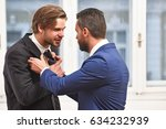 fight  business conflict ... | Shutterstock . vector #634232939