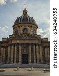 facade of the institut de... | Shutterstock . vector #634240955