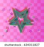 cosmos art icon | Shutterstock .eps vector #634311827