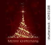 golden stars forming a... | Shutterstock .eps vector #63431188