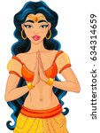 jasmine is arabian nights... | Shutterstock .eps vector #634314659