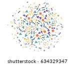 abstract background for...   Shutterstock .eps vector #634329347