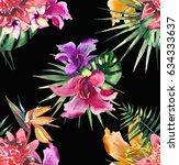 beautiful bright lovely... | Shutterstock . vector #634333637
