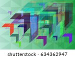 way background elements | Shutterstock .eps vector #634362947
