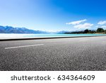 landscape of blue sea from... | Shutterstock . vector #634364609