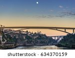 prince henry bridge between... | Shutterstock . vector #634370159