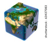 Earth As A Cube With...