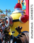 Small photo of OSAKA, JAPAN - Apr 26 2017: Minion Mascot from Despicable Me in Universal Studios japan